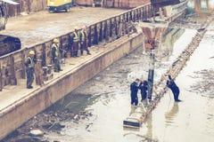 Brzeg rzeki naprawa 2 Fotografia Stock