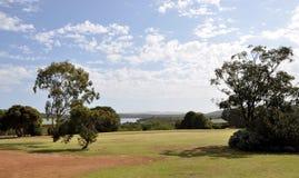 Brzeg rzeki odwrót: Walpole, zachodnia australia zdjęcie royalty free