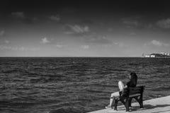 Brzeg samotność Obrazy Stock