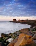 brzeg wschód słońca Obrazy Royalty Free
