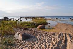 Brzeg zatoka Finlandia Zdjęcie Stock