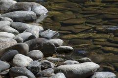 brzegi rzeki Zdjęcia Royalty Free