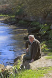 brzegi rzeki obrazy stock