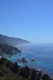 brzegowa California autostrada Pacific Fotografia Royalty Free