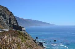 brzegowa California autostrada Pacific Obrazy Royalty Free