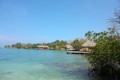 brzegowe Colombia wizerunku wyspy Rosario zdjęcia royalty free