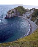brzegowej zatoczki brzegowy lulworth Fotografia Royalty Free