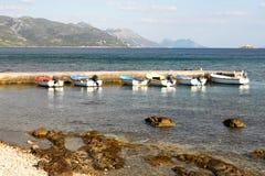 brzegowi Adriatic wakacje Fotografia Stock