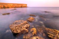 brzegowi czerwonego morza kamienie Obrazy Stock