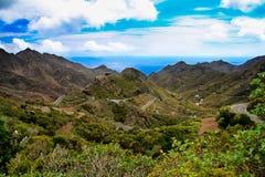 brzegowi gigantes los Tenerife Zdjęcie Stock