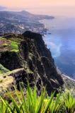 brzegowi wyspy Madeira południe Obraz Stock