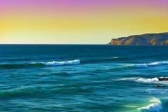 brzegowy Atlantic ocean Obrazy Stock