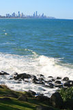 brzegowy Australia złoto Fotografia Stock