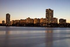 brzegowy Chicago złoto obraz royalty free