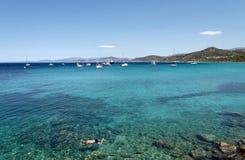 brzegowy Corsica fotografia stock