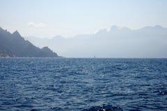 brzegowy Corsica fotografia royalty free