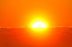 brzegowy denny wschód słońca Obraz Royalty Free