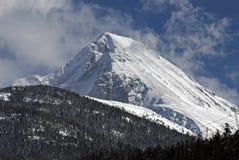 brzegowy góry gór klin Obrazy Royalty Free