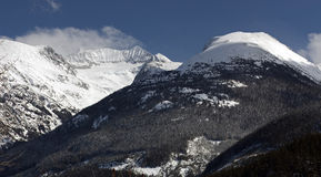 brzegowy góry gór weart Zdjęcie Royalty Free