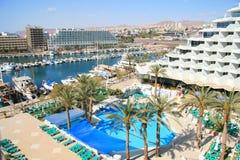 brzegowy hotelowy widok Fotografia Stock