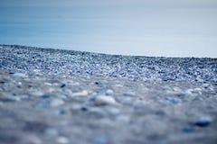 brzegowy krajobrazowy skalisty morze Zdjęcie Stock