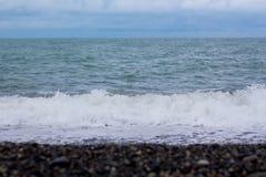 brzegowy krajobrazowy skalisty morze Zdjęcie Royalty Free