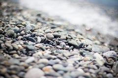 brzegowy krajobrazowy skalisty morze Obraz Stock