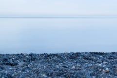 brzegowy krajobrazowy skalisty morze Zdjęcia Stock