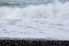 brzegowy krajobrazowy skalisty morze Fotografia Royalty Free