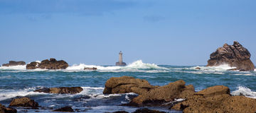 brzegowy morze Zdjęcia Royalty Free