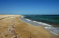 brzegowy morze Obrazy Royalty Free