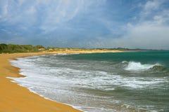 Brzegowy ocean zdjęcia stock