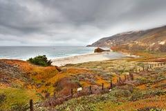 brzegowy ocean Pacific Zdjęcie Royalty Free