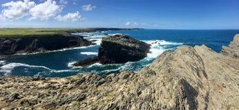 Brzegowy okręg administracyjny Clare Irlandia Fotografia Stock