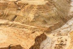 brzegowy piaskowaty Obraz Stock