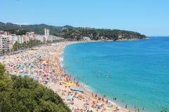 Brzegowy pogodny Hiszpania Zdjęcie Stock
