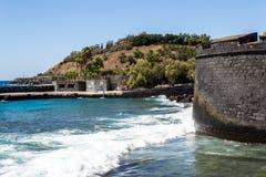 brzegowy śródziemnomorski viareggio Zdjęcia Royalty Free
