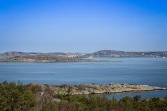 brzegowy sceniczny szwedzki widok Zdjęcie Stock
