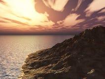 brzegowy skalisty zdjęcie royalty free