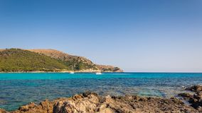 brzegowy skalisty morze obraz royalty free