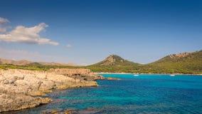 brzegowy skalisty morze obrazy royalty free
