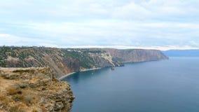 brzegowy skalisty morze zbiory wideo