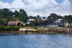 brzegowy tropikalny Obraz Royalty Free