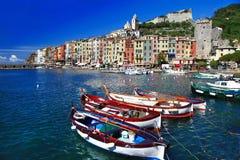 brzegowy włoski malowniczy fotografia royalty free