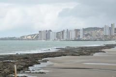 Brzegowy widok blisko plaża obrazy stock