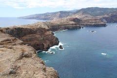 brzegowy wschodni Madeira Fotografia Royalty Free