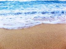brzegu plaży Fotografia Royalty Free