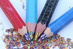brzmienie Coloured ołówki Obraz Stock