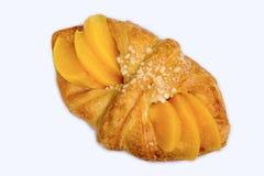 Brzoskwini duński ciasto Zdjęcie Royalty Free