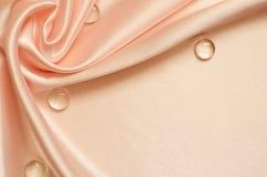 Brzoskwinia drapujący tło Obrazy Royalty Free